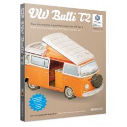 VW Bulli T2 Cardboard Model Kit