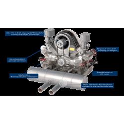 Porsche Carrera Race Engine