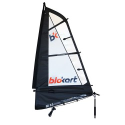 Sail Complete 2.0m Black/White