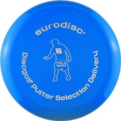 Discgolf putter high quality Blue