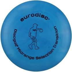 Discgolf midrange high quality Marble blue
