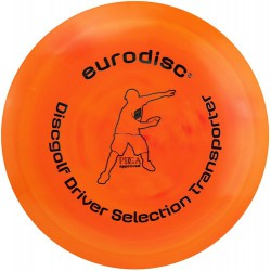 Discgolf driver high quality Marble orange