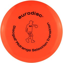 Discgolf midrange high quality Orange