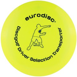 Discgolf driver high quality Yellow