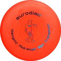 Discgolf midrange standaard Orange