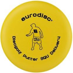 Discgolf putter standaard Yellow