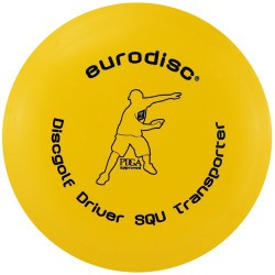 Discgolf driver standaard Yellow