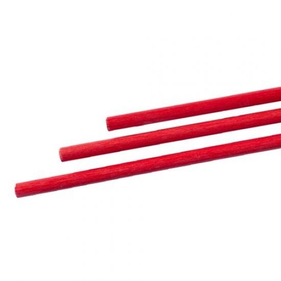 Exel glasvezel hol rood 9 (8.9/7.0mm) x 125cm