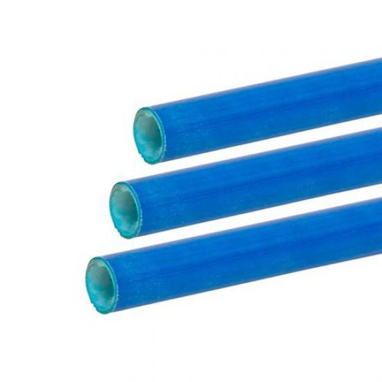 Exel fibreglass tube blue 14mm