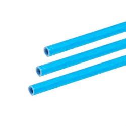 Exel fibreglass tube blue 6