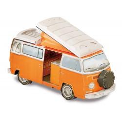 Franzis VW Bulli T2 Cardboard Model Kit