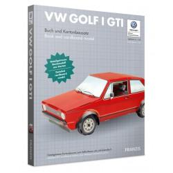 Franzis VW Golf GTI mk1 Cardboard model kit