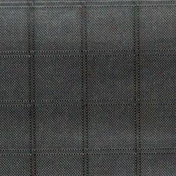 Icarex polyester black 140cm per m.