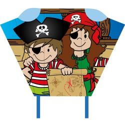 Pirate Pocket Sled Jimmy & Jenny