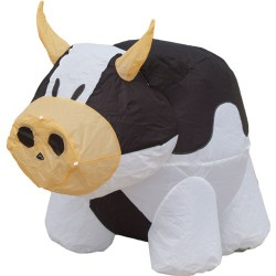 Bouncing Buddy Cow (black)