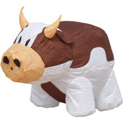 Bouncing Buddy Cow (brown)