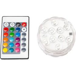Multicolor LED Light + Remote Control