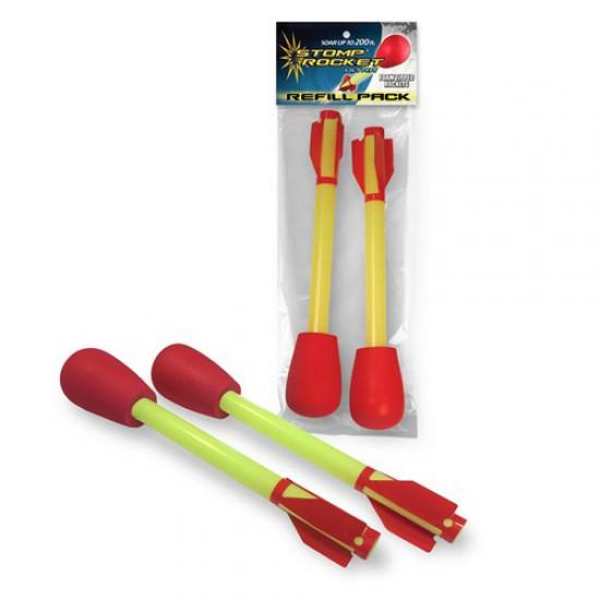 Stomp Rocket Ultra Replacement Rockets