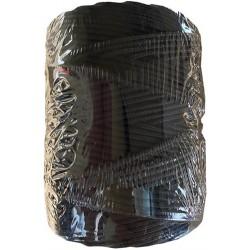 Dacron gevlochten 100m 50kg zwart