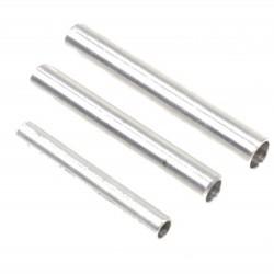 Aluminium buis 25x20x200mm
