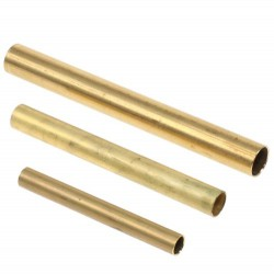 Messing buis 5mm x 50mm