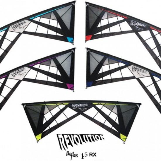 Revolution 1.5 Reflex RX Spider Web (vented) lime