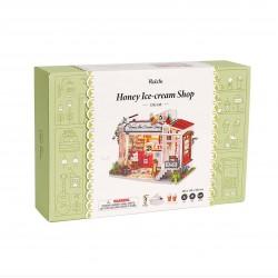 Robotime Honey Ice-cream Shop