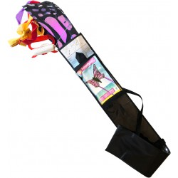 Butterfly kite Pink