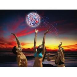 SwimWays Light Up Beach Ball