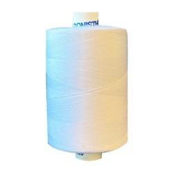 Naaigaren polyester klos 1000 meter wit