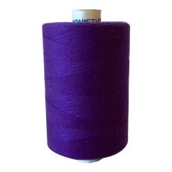 Naaigaren polyester klos 1000 meter paars