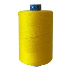 Naaigaren polyester klos 1000 meter geel