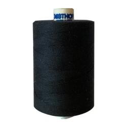 Naaigaren polyester klos 1000 meter zwart