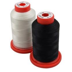Naaigaren polyester 60Td klos 1800 meter zwart