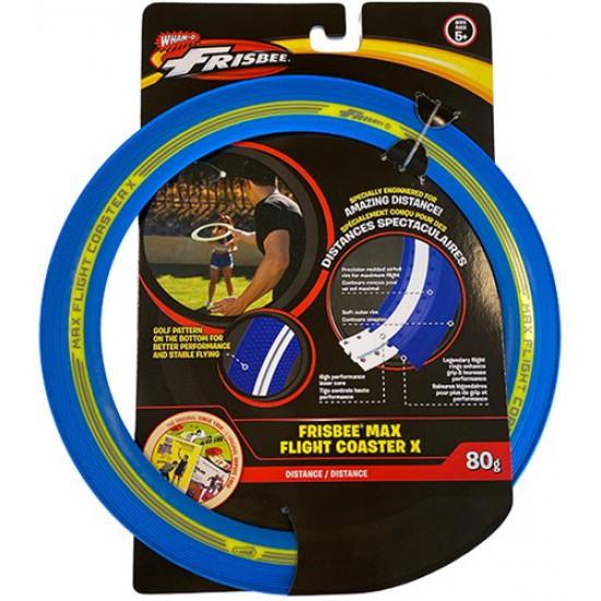 WhamO Frisbee Max Flight Coaster X - Blue