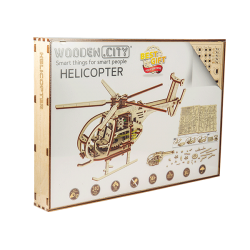Wooden City Helicopter