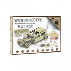 Wooden City Hot Rod