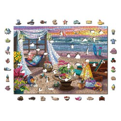 Wooden City Wooden puzzle Summertime