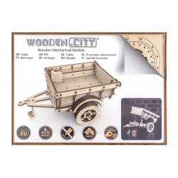 Wooden City Trailer for 4 x 4 Jeep