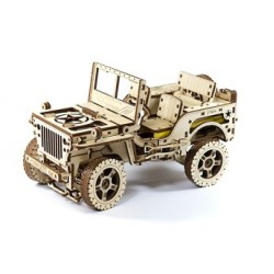 Wooden City 4 x 4 Jeep