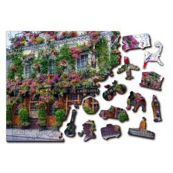 Wooden City Wooden Puzzle London Pub