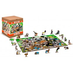Wooden City Wooden puzzle Bear paradise