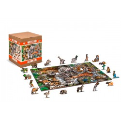 Wooden City Wooden puzzle Nap time