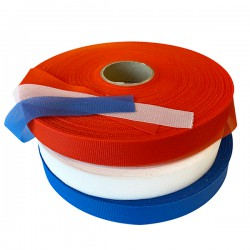 Gauze webbing different colors