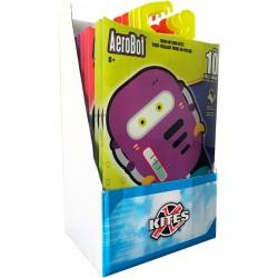 Ass. Midi kites Aerobot 12 st.